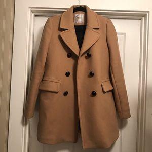 Trafaluc by Zara Camel Coat